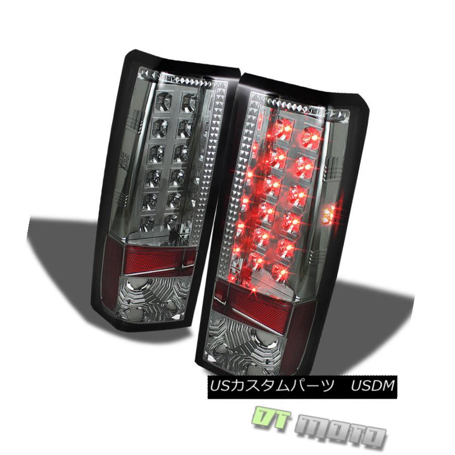 テールライト Smoked 1985-2005 Chevy Astro Van GMC Safari Lumileds LED Tail Lights Left+Right スモーク1985-2005シボレーアストロバンGMCサファリLumileds LEDテールライト左+右