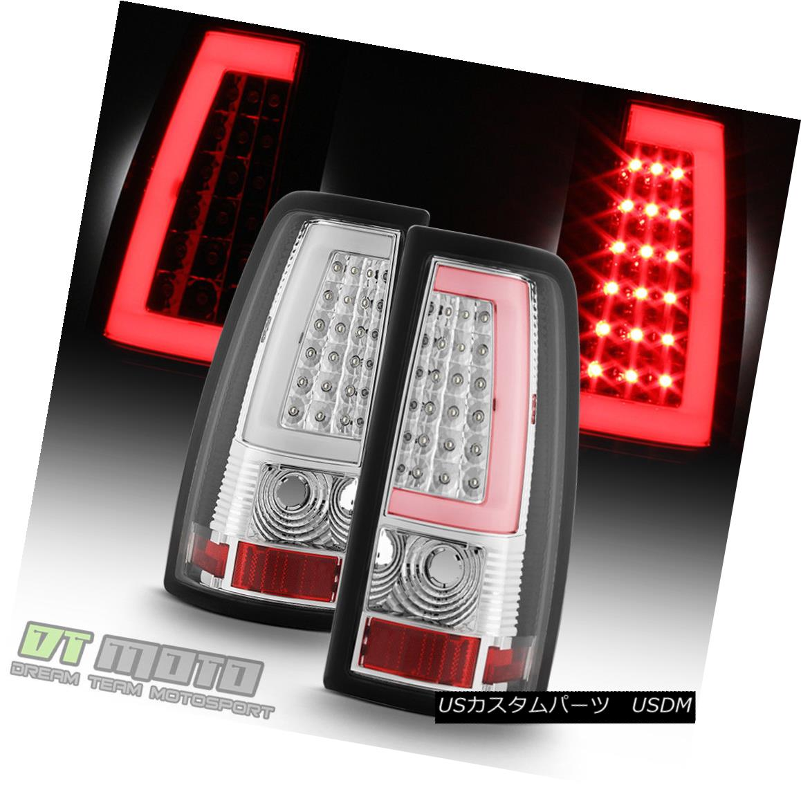 テールライト NEW 1999-2006 GMC Sierra 1500 2500 1999-2002 Chevy Siverado LED Tube Tail Lights NEW 1999-2006 GMC Sierra 1500 2500 1999-2002 Chevy Silverado LEDチューブテールライト