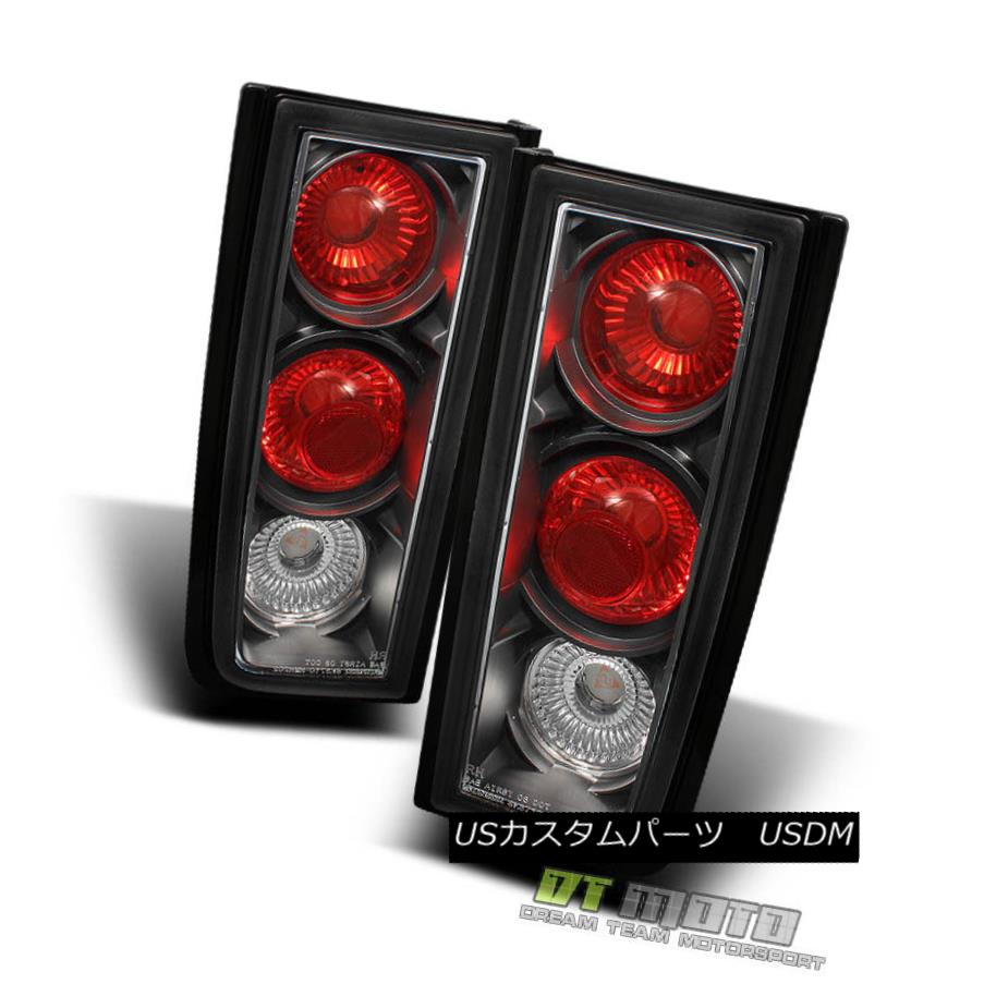 テールライト Black 03-09 Hummer H2 Suv Euro Altezza Rear Tail Lights Brake Lamps Left+Right ブラック03-09 Hummer H2 SuvユーロAltezzaリアテールライトブレーキランプ左+右