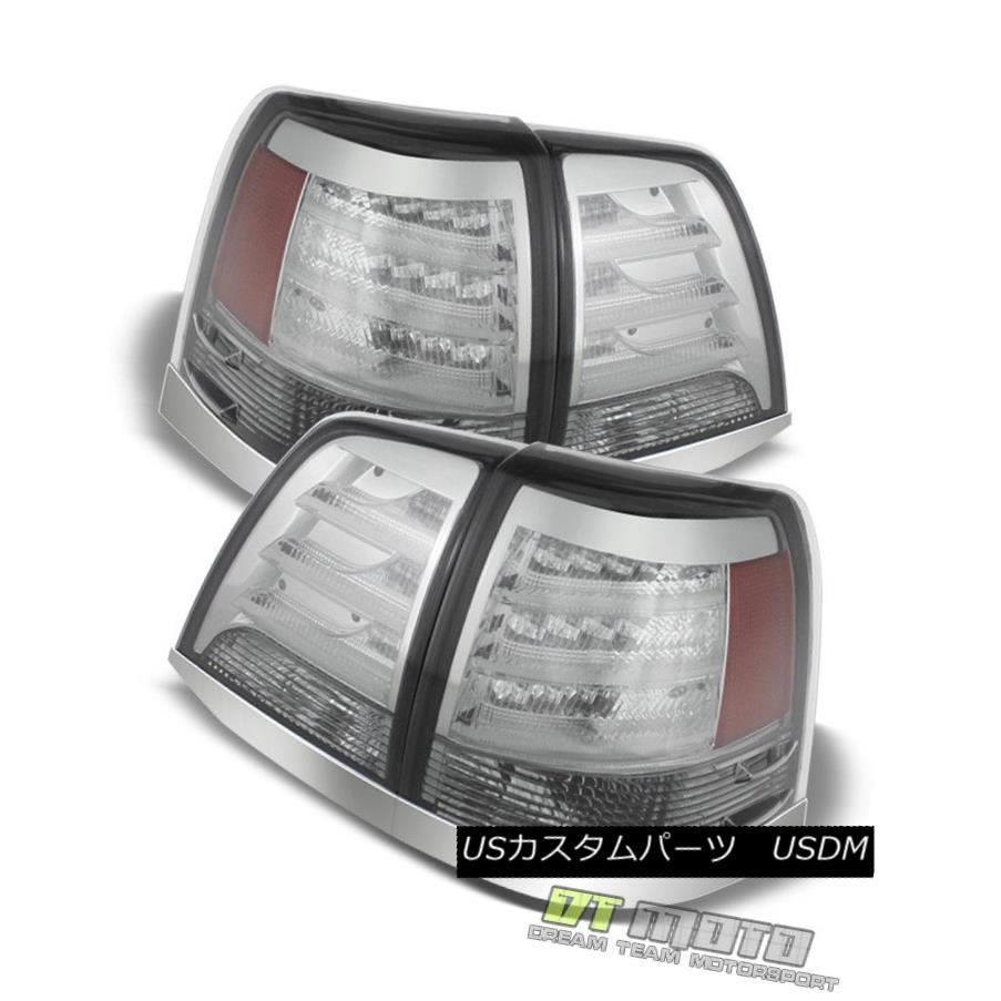 テールライト 2008-11 Land Cruiser Philips Lumileds Led Chrome Tail Lights Lamp V2 Left+Right 2008-11ランドクルーザーPhilips Lumileds Led ChromeテールライトランプV2 Left + Right