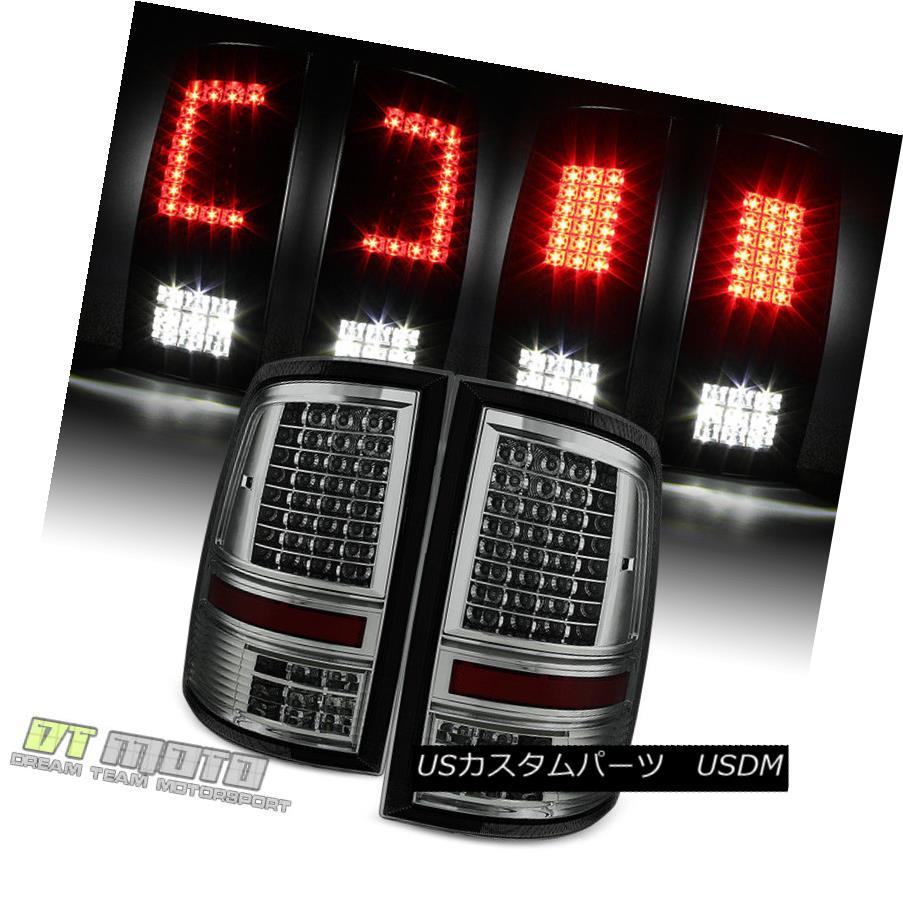 テールライト Smoke 2009-2017 Dodge Ram 1500 2500 3500 Pickup Full LED Tail Lights Brake Lamps Smoke 2009-2017 Dodge Ram 1500 2500 3500ピックアップフルLEDテールライトブレーキランプ