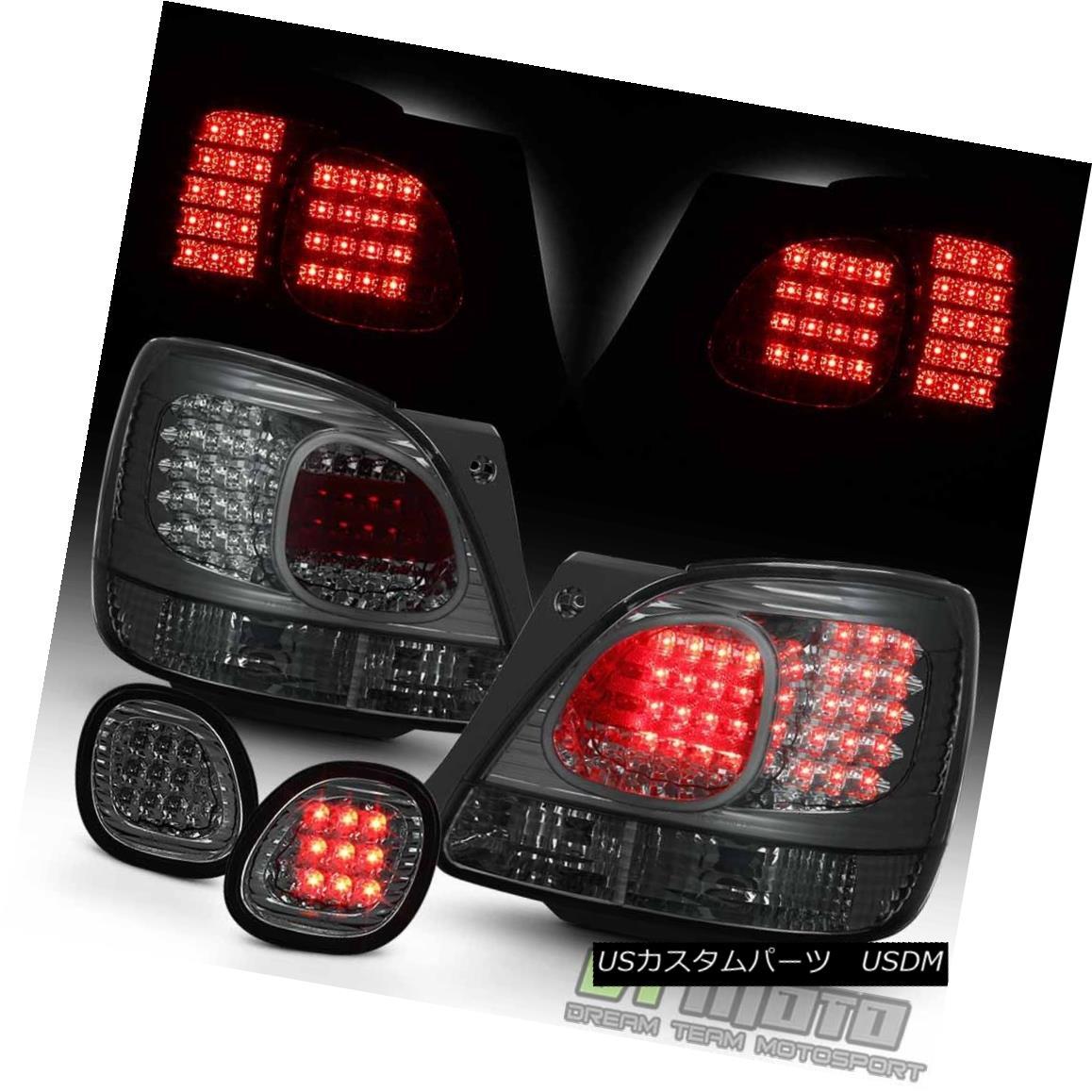 テールライト [Combo] Smoke 1998-2005 Lexus GS300 GS400 GS430 LED Tail Lights+LED Trunk Lamps [コンボ]煙1998-2005レクサスGS300 GS400 GS430 LEDテールライト+ LEDトランクランプ