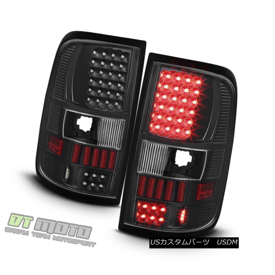 テールライト Blk 2004-2008 F150 Ford F150 Right F-150 Pickup Blk LED Tail Lights Lamps Left+Right 04-08 Set Blk 2004-2008 Ford F150 F-150ピックアップLEDテールライトランプLeft + Right 04-08 Set, クレブスポーツ通販事業課:44ba9e8a --- atbetterce.com