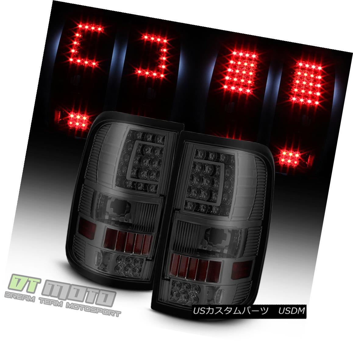 テールライト 2004-2008 Smoked 2004-2008 Ford Lamps F150 F150 [C-Shape] LED Tail Brake Lights Brake Lamps Left+Right スモーク2004-2008フォードF150 F150 [C形] LEDテールライトブレーキランプ左+右, ワールドクラブ 1989:5592d494 --- officewill.xsrv.jp