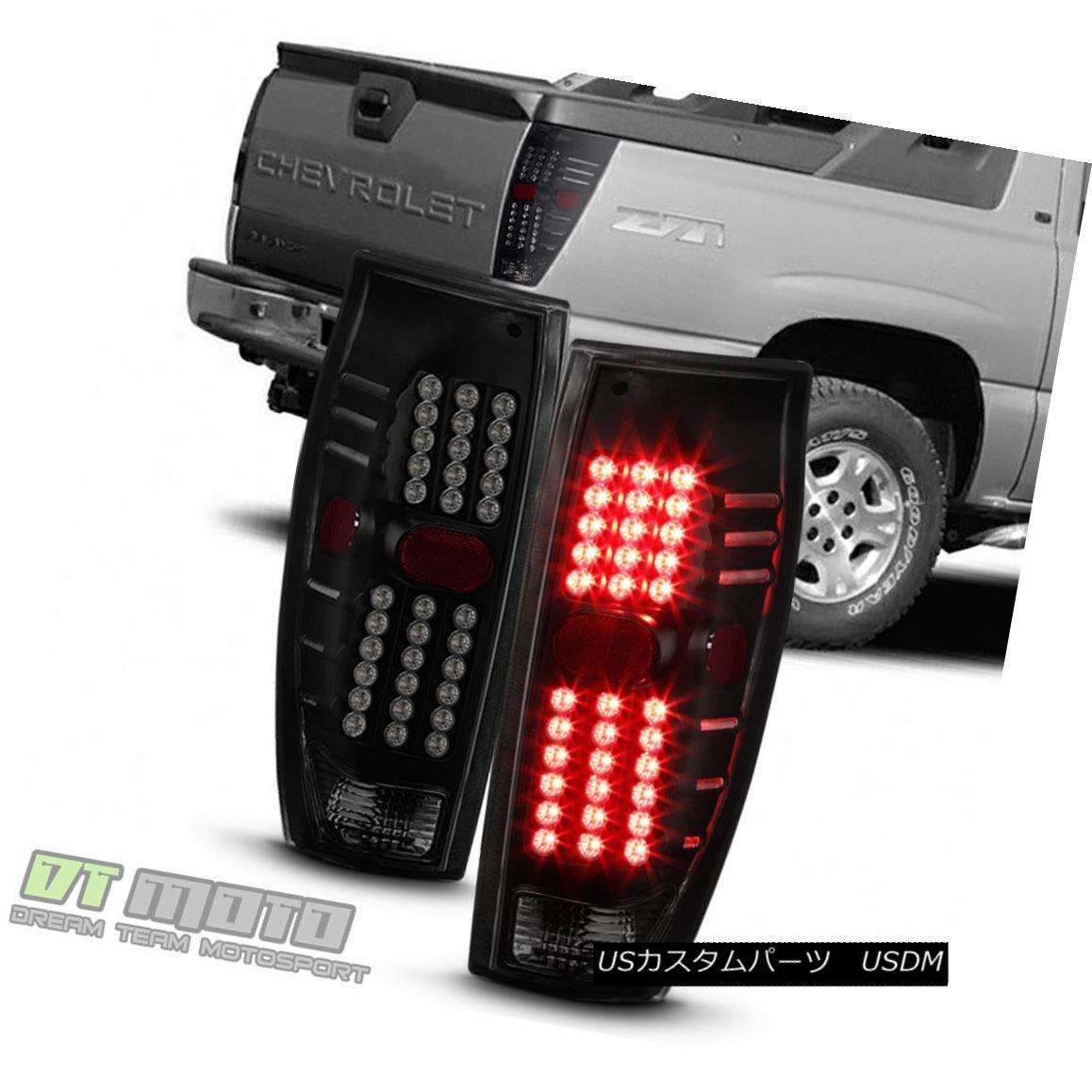 テールライト NEW Black Smoke 2002-2006 Chevy Avalanche 1500 2500 LED Tail Lights Brake Lamps NEW Black Smoke 2002-2006 Chevy Avalanche 1500 2500 LEDテールライトブレーキランプ