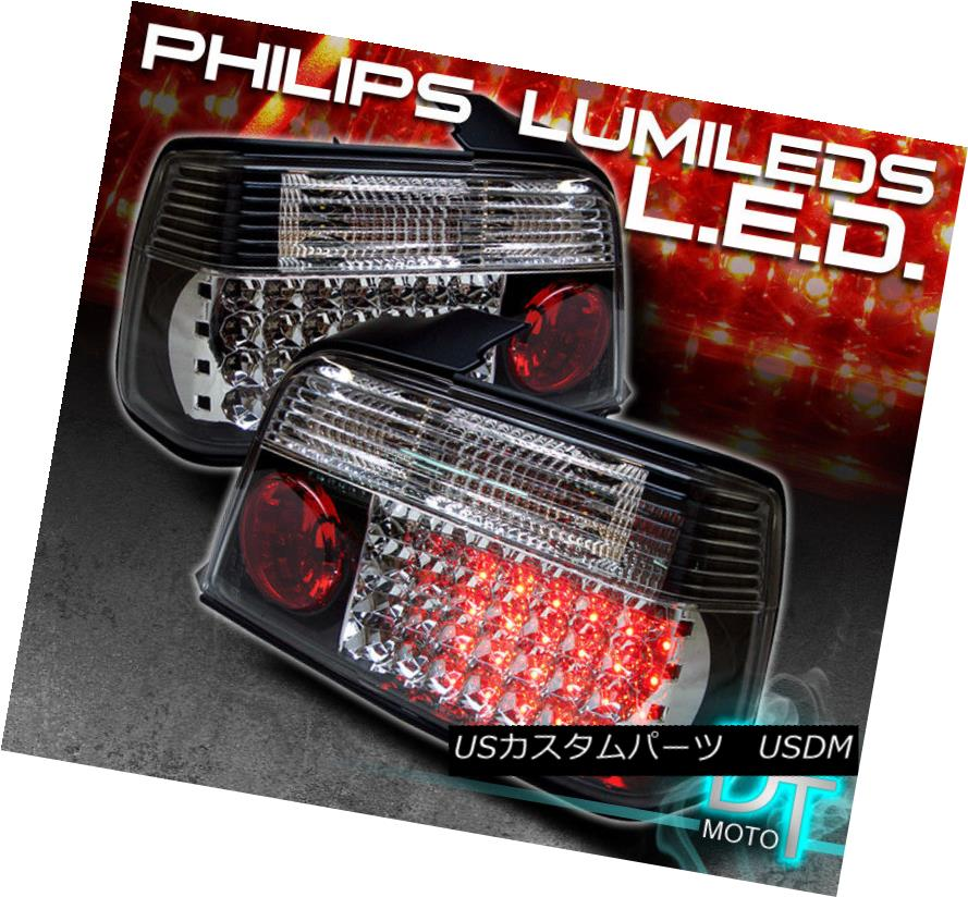 テールライト Black 92-98 Bmw E36 3-Series 4Dr Philips-Led Perform Tail Lights Left+Right 黒92-98 Bmw E36 3-Series 4Dr Philips-Ledテールライトの左右を実行