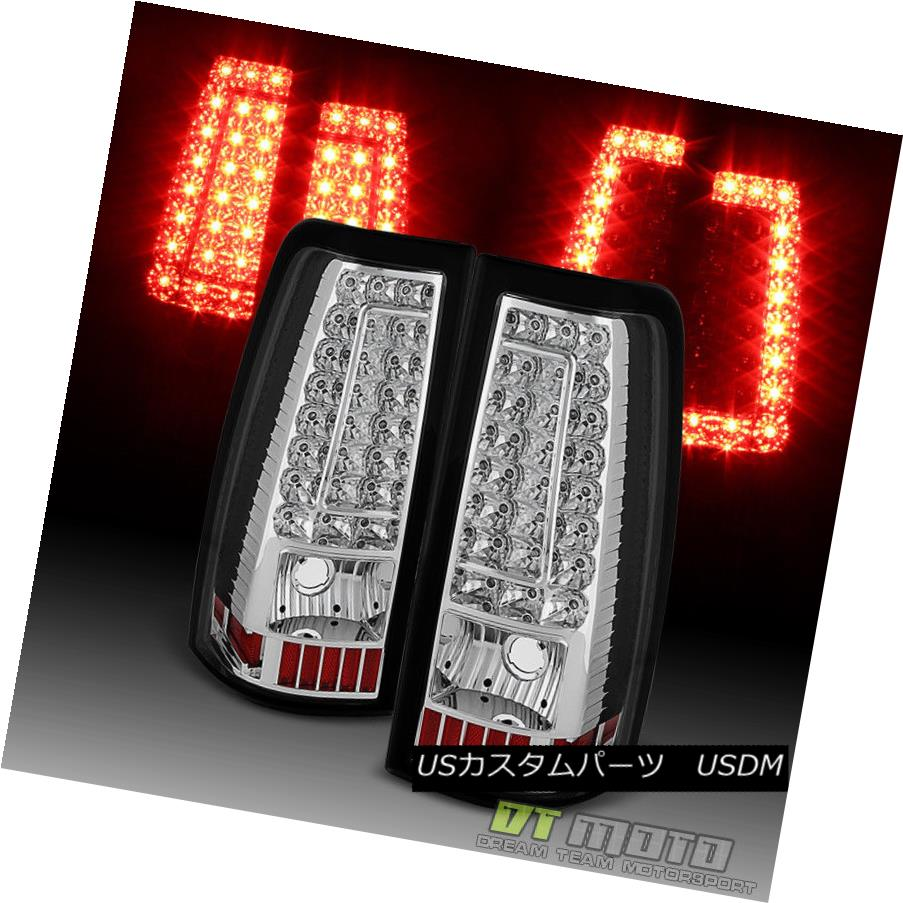 テールライト 1999-2002 Chevy Silverado 1500 2500 3500 LED Tail Lights Brake Lamps Left+Right 1999-2002 Chevy Silverado 1500 2500 3500 LEDテールライトブレーキランプ左+右