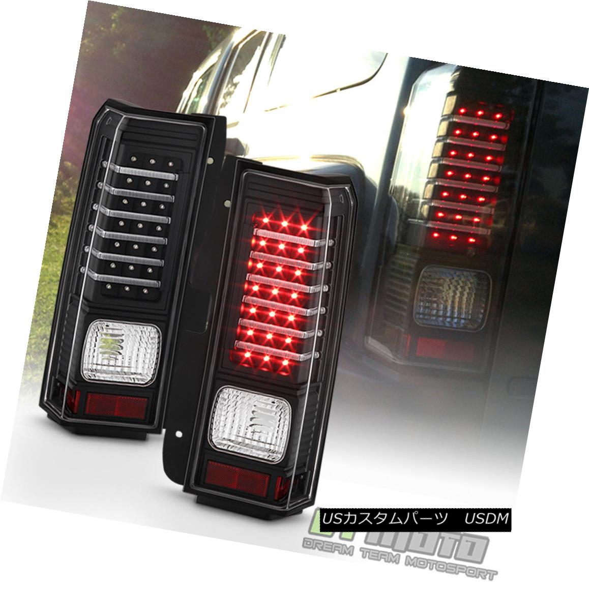 テールライト 2006 2007 2008 2009 2010 Hummer H3 LED [Light Bar] Tail Lights Lamps Left+Right 2006 2007 2008 2009 2010 Hummer H3 LED [ライトバー]テールライトランプ左右+