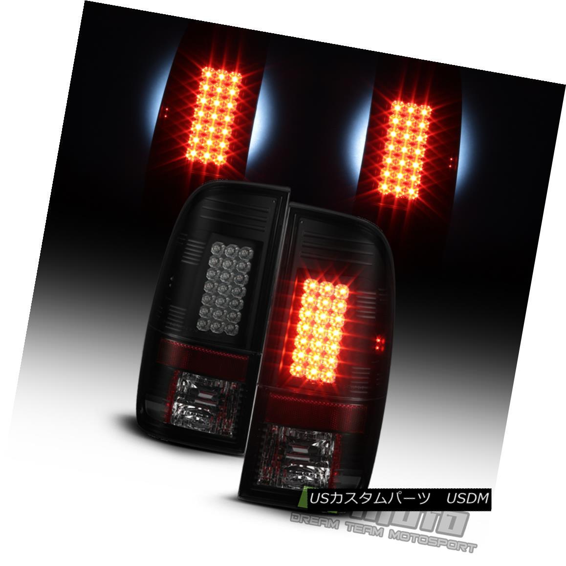 テールライト F450 Black SuperDuty Housing Smoke Lens 2008-2016 Ford F450 F250 F350 F450 SuperDuty LED Tail Lights ブラックハウジングスモークレンズ2008-2016 Ford F250 F350 F450 SuperDuty LEDテールライト, グランドプレイス:05832473 --- officewill.xsrv.jp