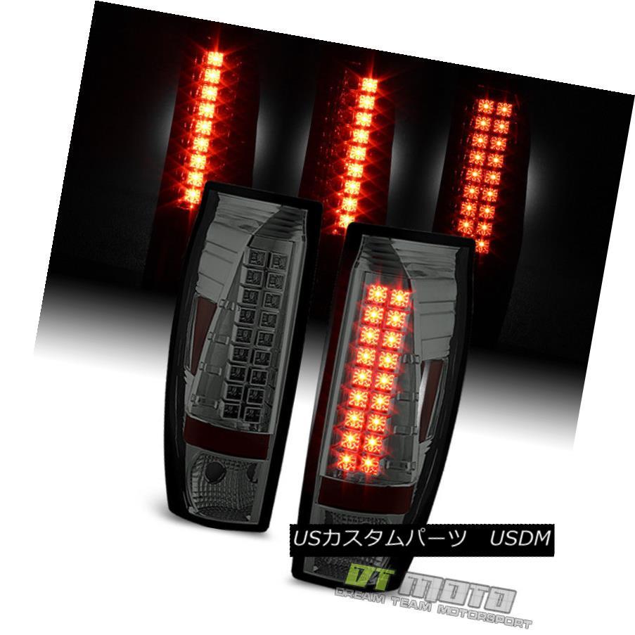 テールライト Smoked 2002-2006 Chevy Avalanche 1500 2500 Pickup Lumileds LED Tail Lights Lamps スモーク2002-2006シボレーアバランチ1500 2500ピックアップLumileds LEDテールライトランプ