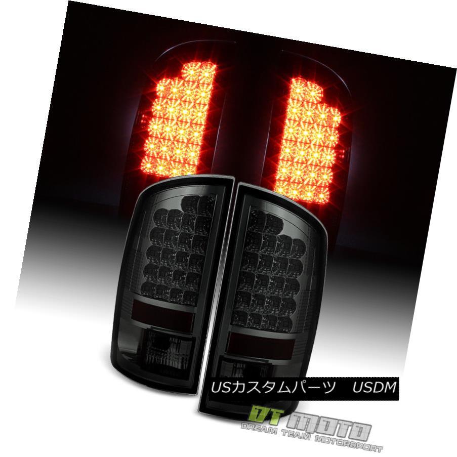 テールライト Smoke 2007-2008 Dodge Ram 1500 2500 3500 Lumileds LED Tail Lights Set Left+Right 煙2007-2008ダッジラム1500 2500 3500 Lumileds LEDテールライトは左+右に設定