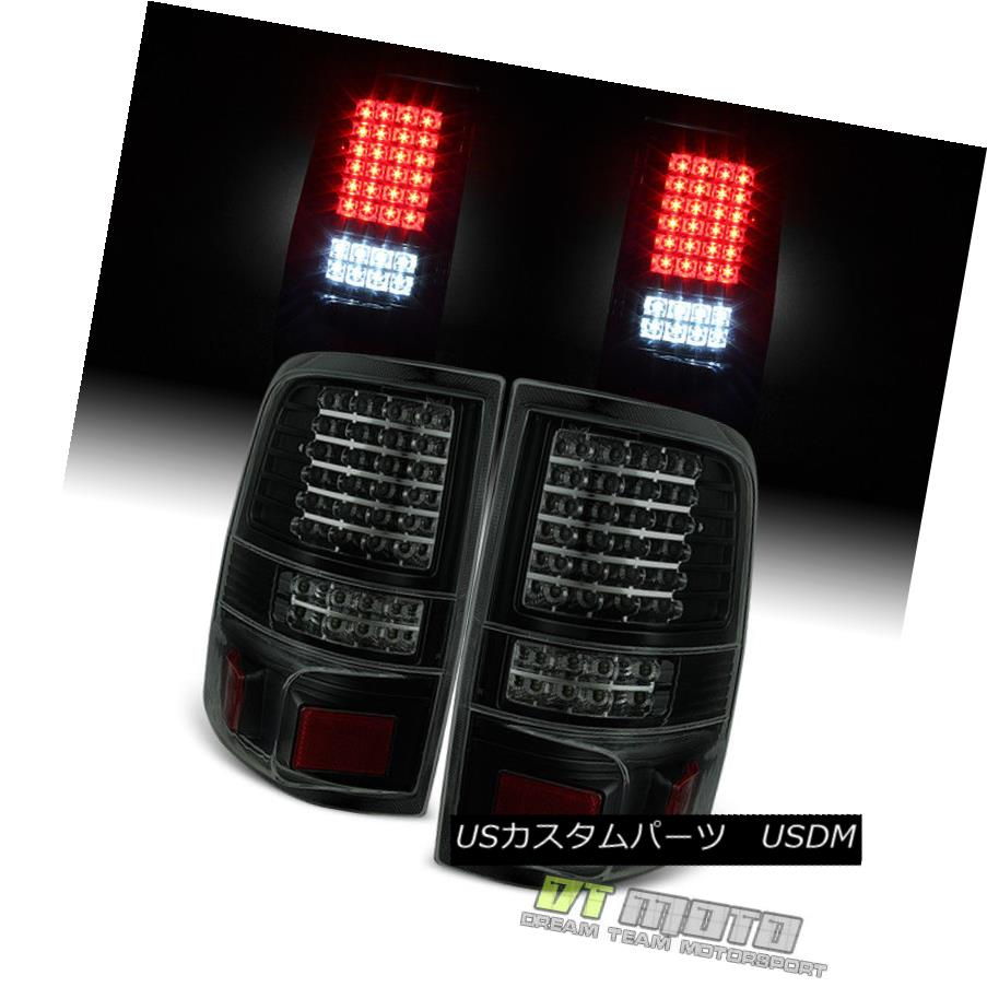 テールライト Black Smoke 2004-2008 Ford F150 LOBO Pickup Full LED Tail Lights Brake Lamps G2 ブラックスモーク2004-2008フォードF150 LOBOピックアップフルテールライトブレーキランプG2