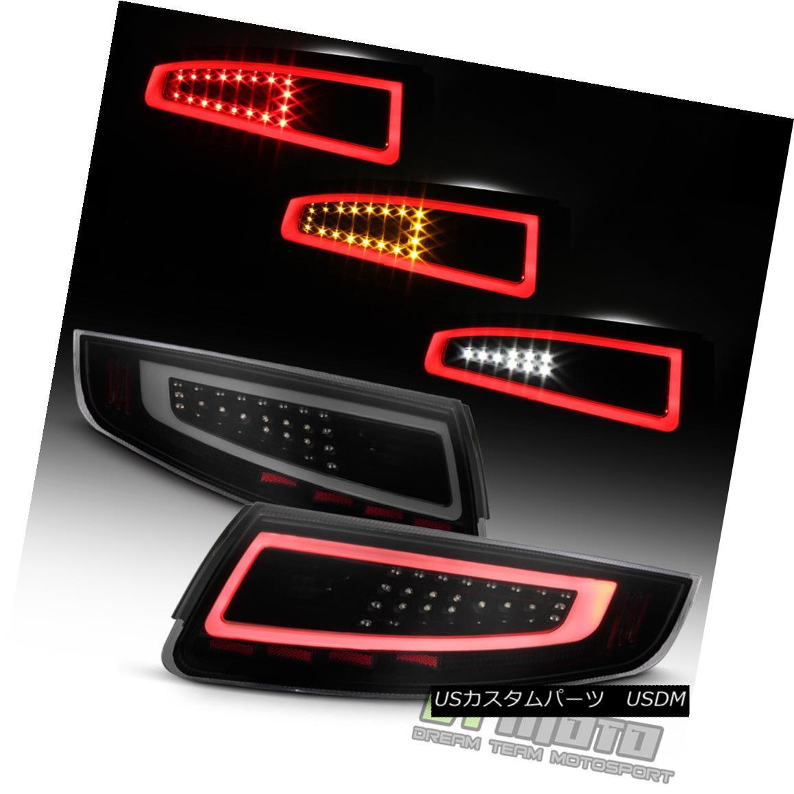 車用品 バイク用品 >> パーツ ライト ランプ テールライト Black Smoke 2005-2008 LEDチューブテールライト 911 LED Lights Sequential 国際ブランド Signal Tail Tube Porsche 997 送料無料(一部地域を除く)