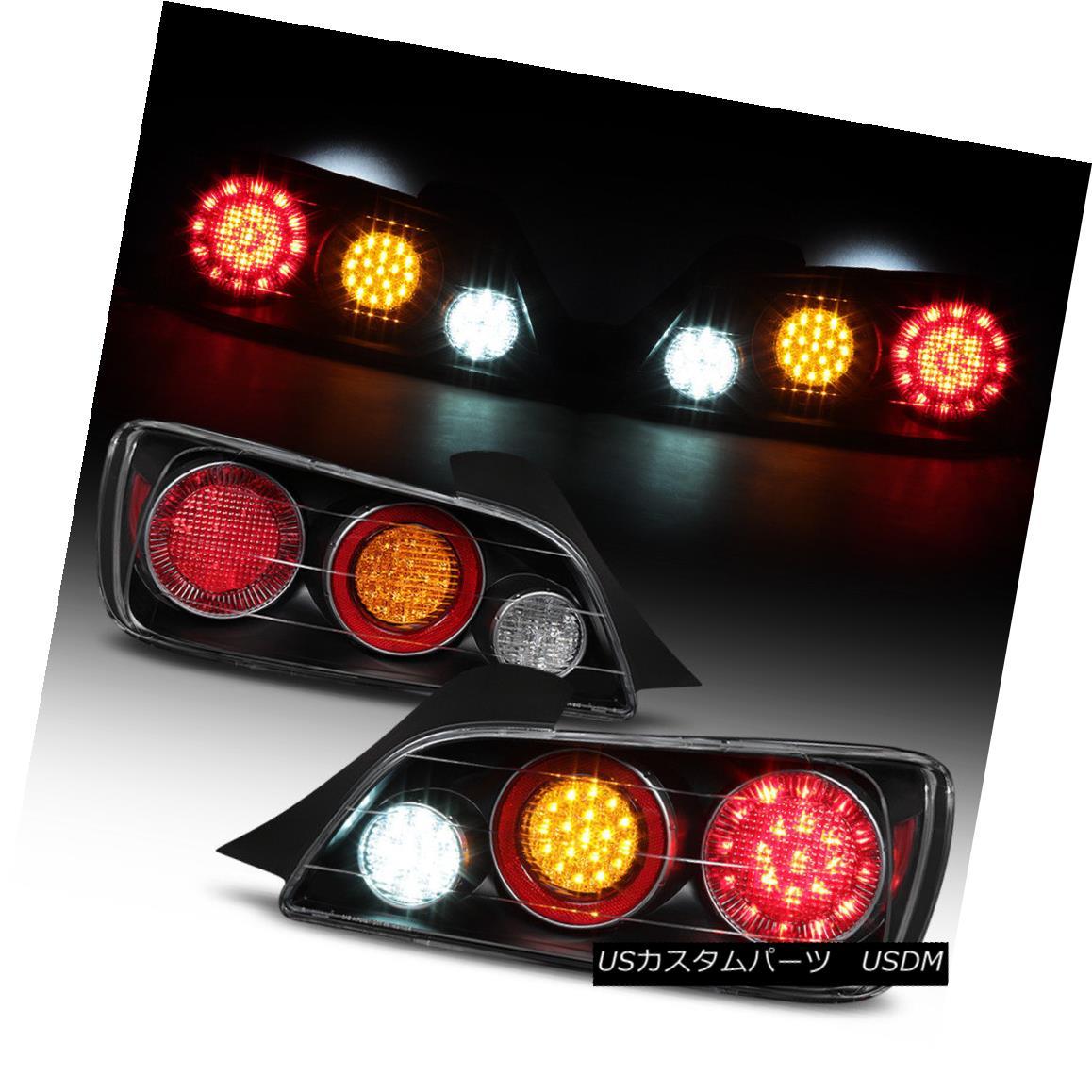 テールライト For 2000 2001 2002 2003 Honda S2000 Full LED Tail Lights Brake Lamps Left+Right 2000 2001 2002 Honda S2000フルLEDテールライトブレーキランプ左+右