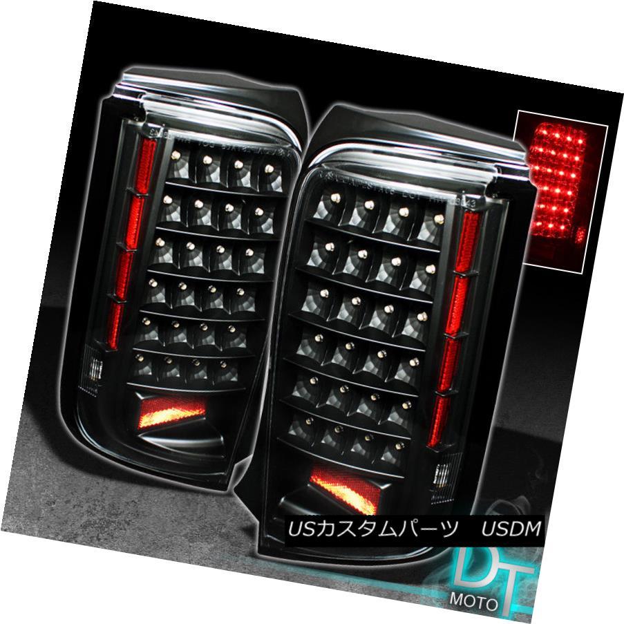 テールライト 2008 2009 2010 Scion Xb Bb JDM Black LED Tail Lights Brake Lamps Left+Right Pair 2008年2009年2010年サイオンXb Bb JDMブラックLEDテールライトブレーキランプ左+右ペア