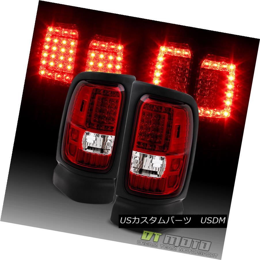 テールライト 1500 1994-2001 Dodge Ram 1500 2500 3500 Lights LED Pickup Red Clear LED Tail Lights Brake Lamps 1994-2001 Dodge Ram 1500 2500 3500ピックアップレッドクリアテールライトブレーキランプ, BRAYZ:32bd7b63 --- officewill.xsrv.jp