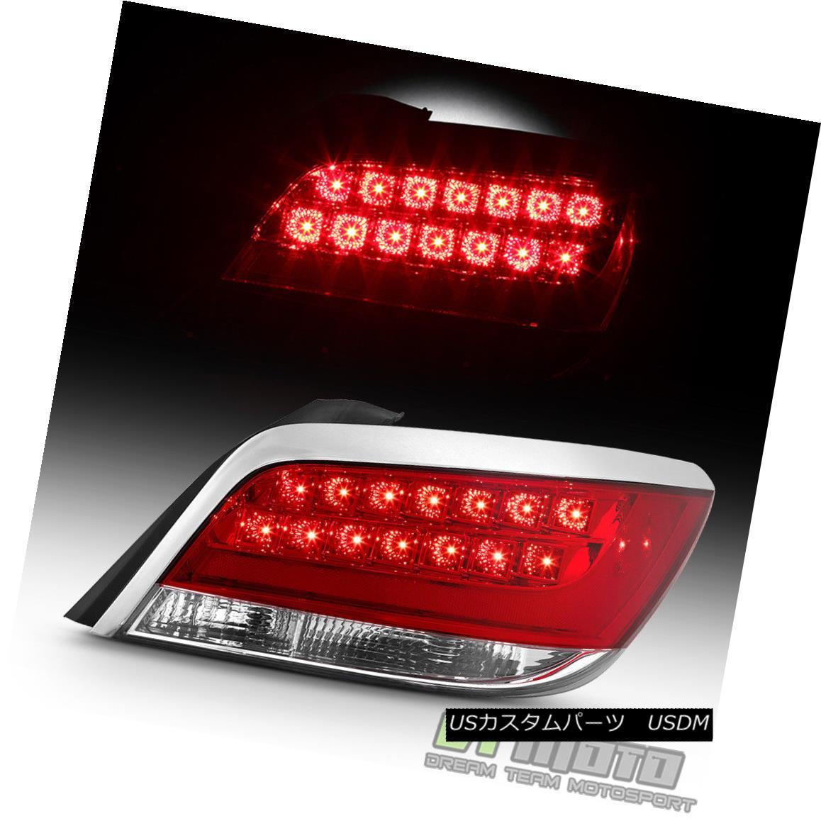テールライト 2010 2011 2012 2013 Buick LaCrosse LED Tail Light Brake Lamp RH Passenger Side 2010 2011 2012 2013ビュイックラクロスLEDテールライトブレーキランプRH乗客側