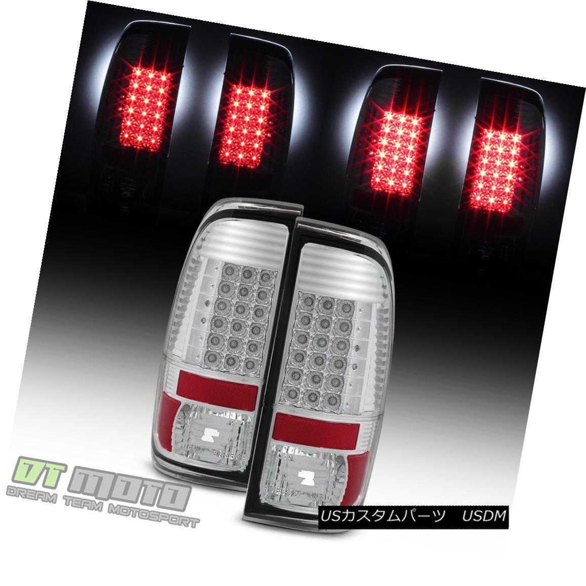 テールライト 2008-2016 Ford F250 F350 F450 Super Duty LED Brake Tail Lights Lamps Left+Right 2008-2016 Ford F250 F350 F450スーパーデューティLEDブレーキテールライトランプ左右+