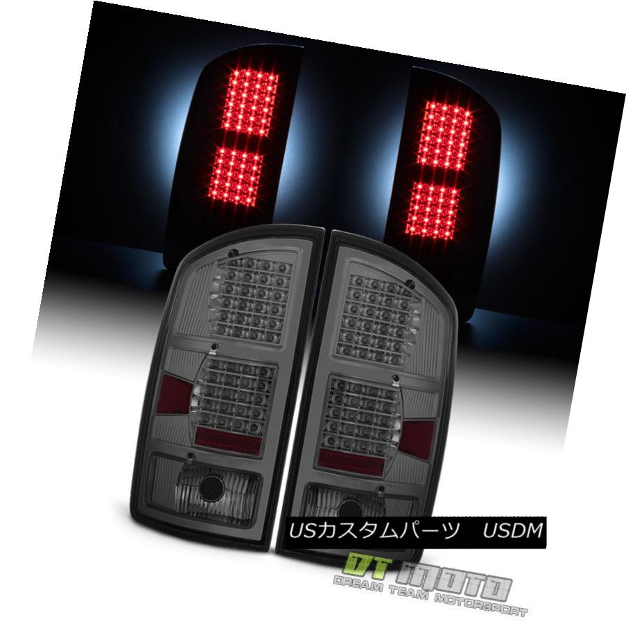 テールライト [Rare 11 Row LED Smoke Len] 2002-2006 Dodge Ram 1500 03-06 2500 3500 Tail Lights [Rare 11 Row LED Smoke Len] 2002-2006 Dodge Ram 1500 03-06 2500 3500テールライト