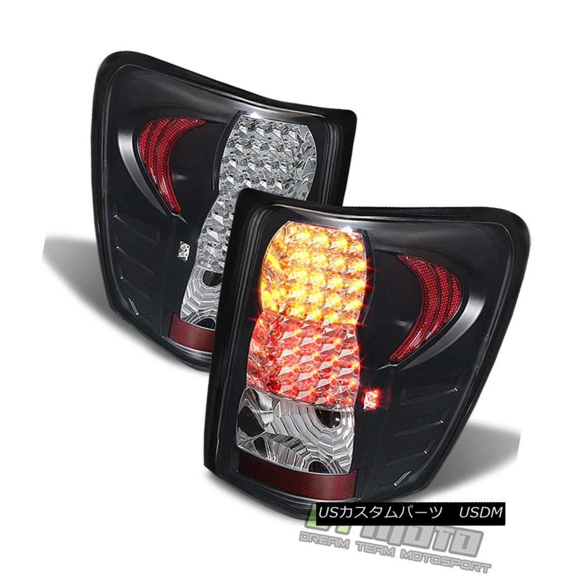 テールライト Black Right 1999-2004 Jeep Grand Jeep Grand Cherokee LED Tail Lights Brake Lamps 99-04 Left+Right ブラック1999-2004 Jeep Grand Cherokee LEDテールライトブレーキランプ99-04 Left + Right, 餅よし:71ce8a68 --- officewill.xsrv.jp