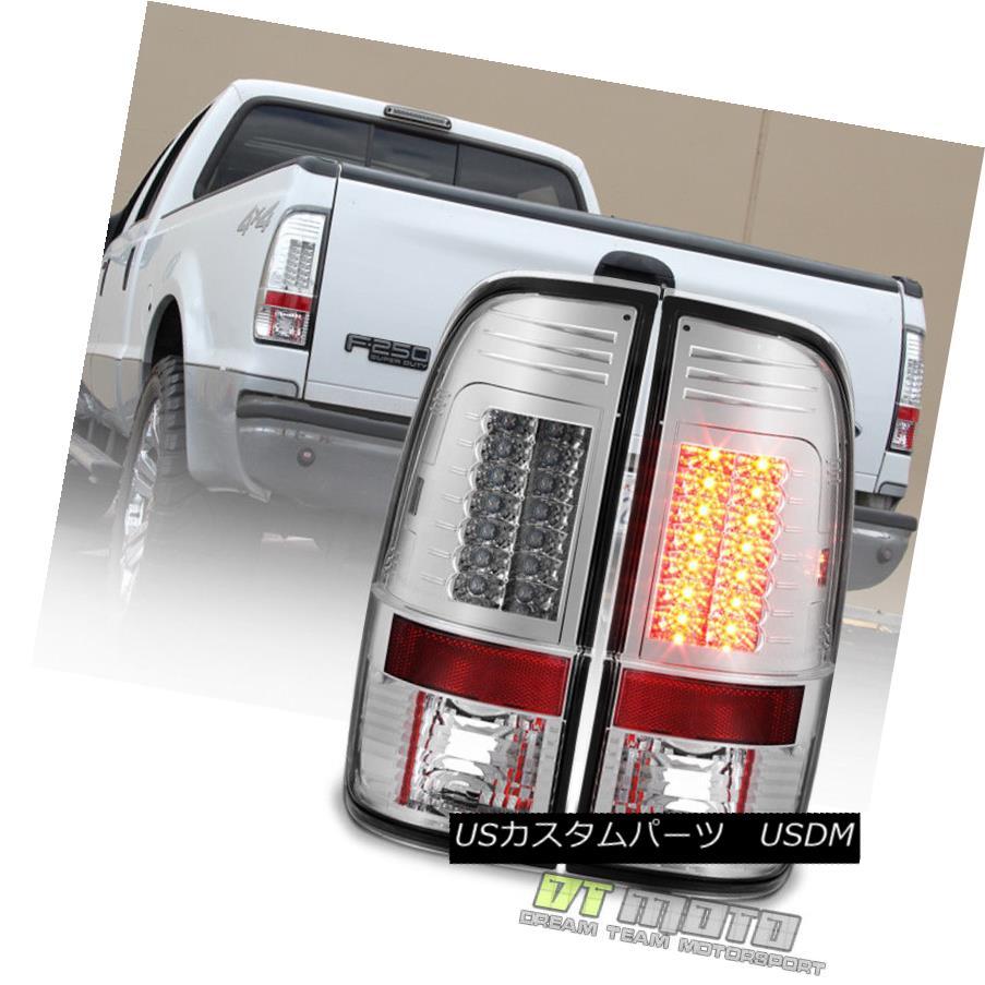 テールライト 1997-2003 Ford F150 99-07 F250 F350 F450 SD Lumileds LED Tail Lights Brake Lamps 1997-2003 Ford F150 99-07 F250 F350 F450 SD Lumileds LEDテールライトブレーキランプ