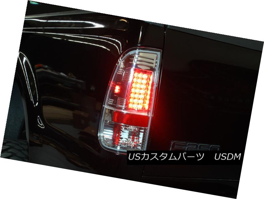 テールライト 97-03 F150 99-07 F250 F350 F450 F550 Philips-Led Perform Clear Tail Lights Lamps 97-03 F150 99-07 F250 F350 F450 F550 Philips-Ledクリアテールライトランプ