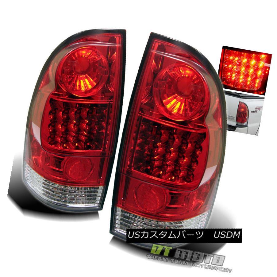 テールライト Tacoma 2005-2015 Toyota Tacoma Truck Pickup Truck Red Tail Clear Lumileds LED Tail Lights Lamp Set 2005-2015トヨタタコマピックアップトラックレッドクリアLumileds LEDテールライトランプセット, 南信濃村:13b9e7f2 --- officewill.xsrv.jp
