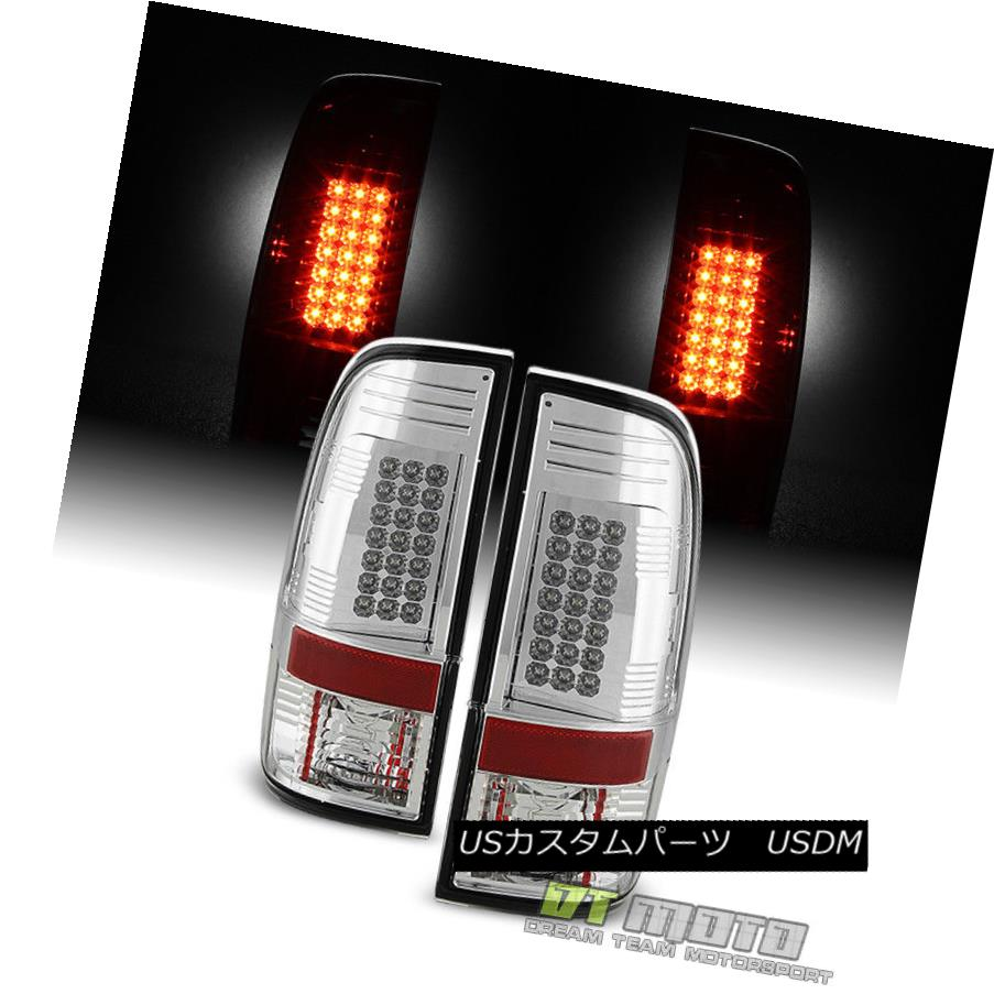 テールライト 2008-2016 Ford F250 F350 F450 SuperDuty LED Tail Lights Lamps Set Left+Right 2008-2016 Ford F250 F350 F450 SuperDuty LEDテールライトランプ左右セット