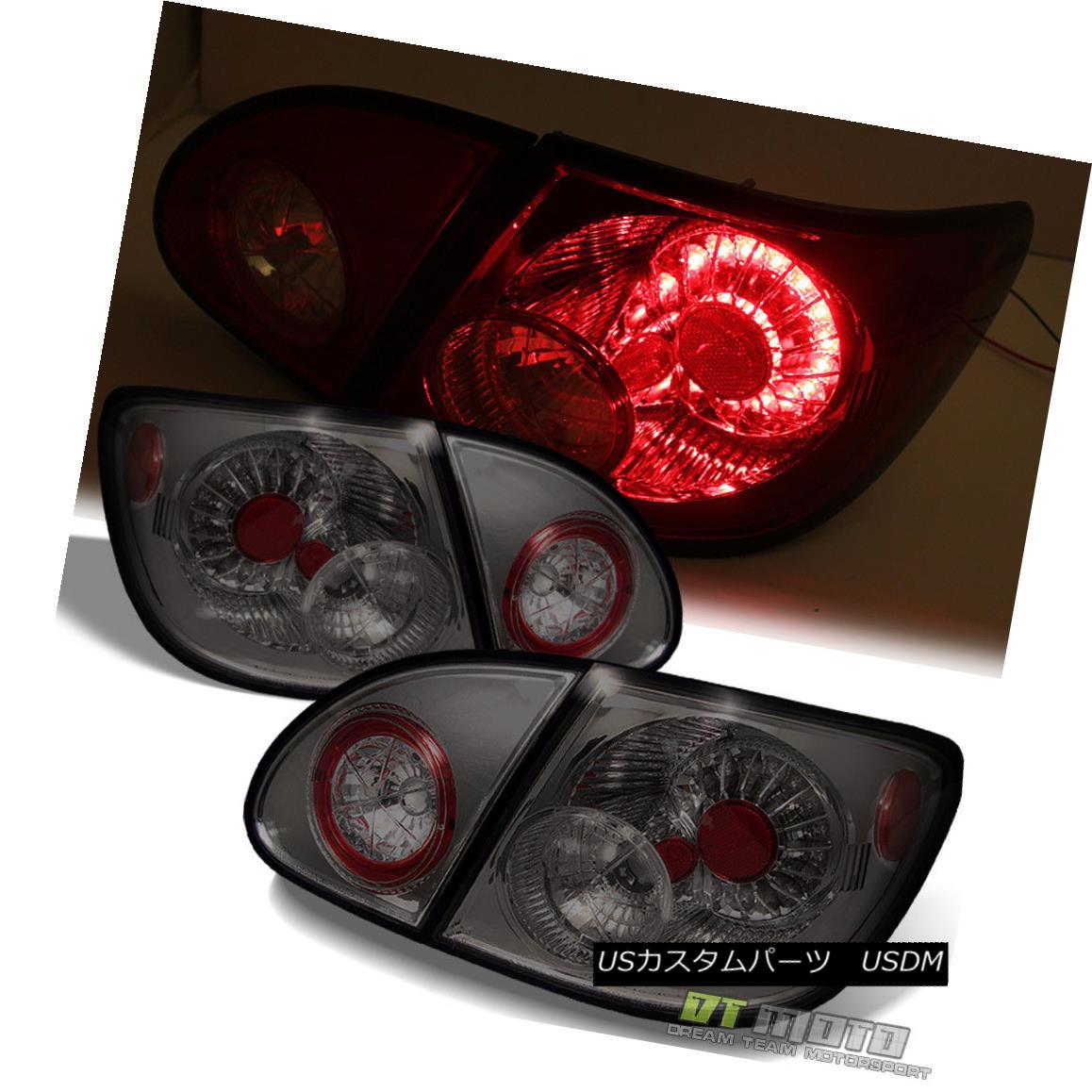 テールライト Smoked 03-08 Toyota Corolla Philips-Led Perform Tail Lights Lamps Left+Right Smoke 03-08 Toyota Corolla Philips-Ledテールライトランプを左右に動かします