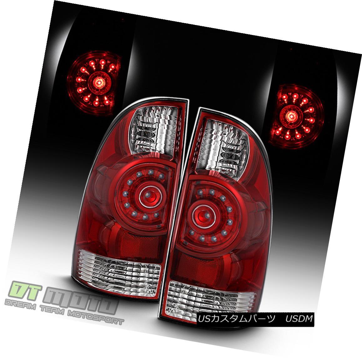 テールライト [Red Speccial Edition] 2005-2015 Toyota Tacoma TRD LED Tail Lights Brake Lamps [赤スペシャルエディション] 2005-2015トヨタタコマTRD LEDテールライトブレーキランプ
