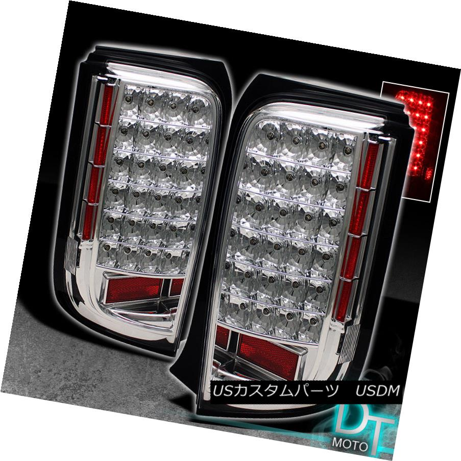 テールライト Chrome JDM Style 2008 2009 2010 Scion Xb LED Tail Lights Brake Lamps Left+Right Chrome JDM Style 2008 2009 2010 Scion Xb LEDテールライトブレーキランプ左+右