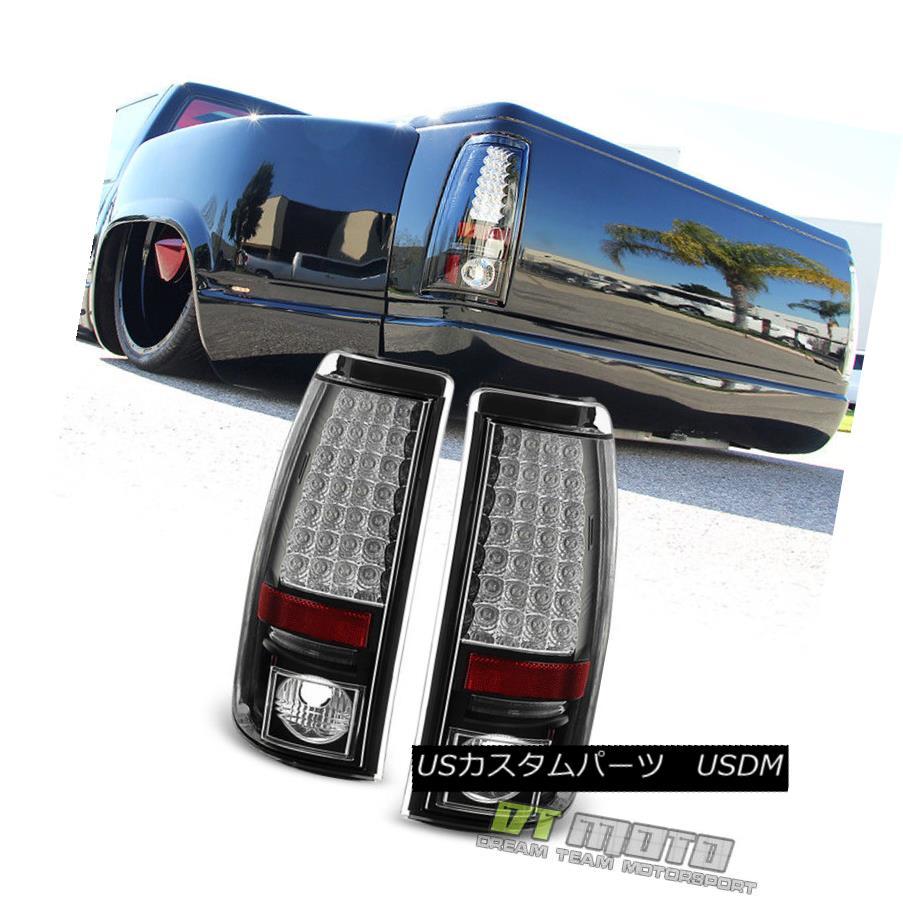 テールライト 2003-2006 Chevy Silverado Black Philips Lumiled LED Tail Lights Brake Lamps Set 2003-2006 Chevy Silverado Black Philips Lumiled LEDテールライトブレーキランプセット