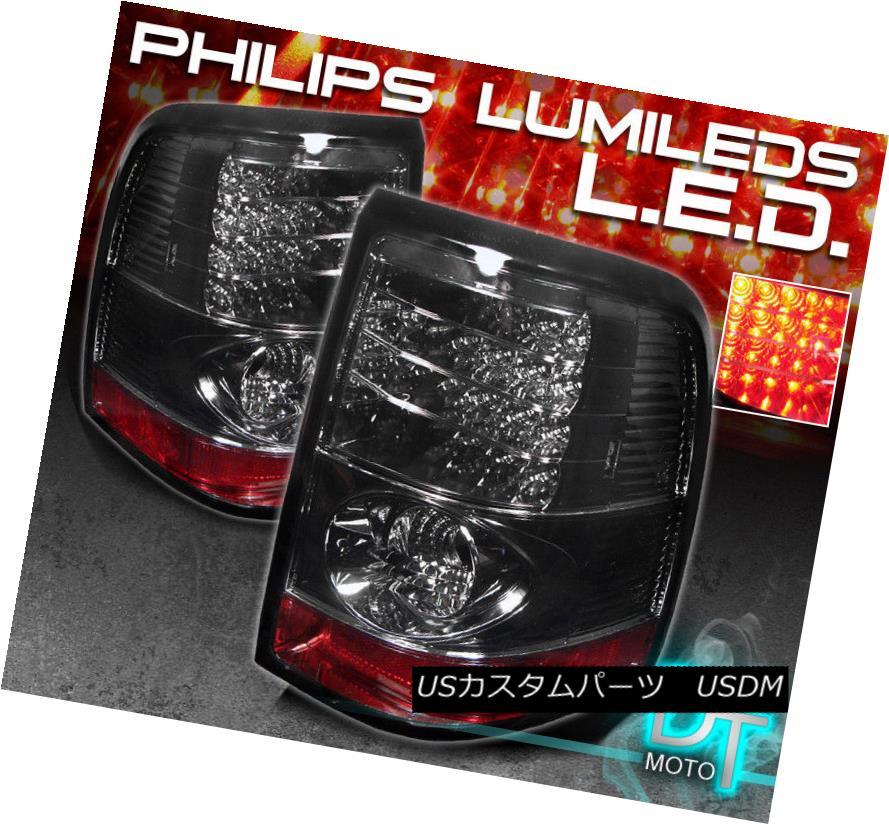 テールライト Smoked 02-05 Ford Explorer Philips-Led Perform Tail Brake Lights Lamp Left+Right スモーク02-05 Ford Explorer Philips-Ledテールブレーキライトランプ左+右