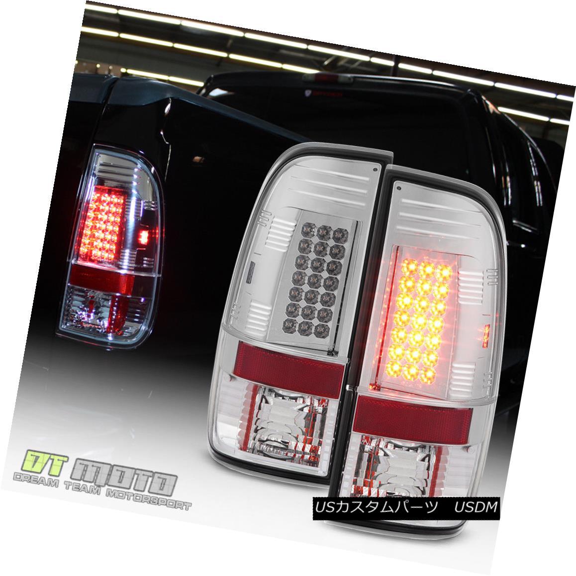 テールライト 1999-2007 Ford F250 97-03 F150 Lumileds LED Tail Lights Brake Lamps Left+Right 1999-2007 Ford F250 97-03 F150 Lumileds LEDテールライトブレーキランプ左+右