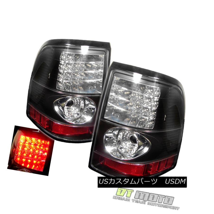 テールライト Black 02-05 Ford Explorer Philips-Led Perform Tail Brake Lights Lamps Left+Right 黒02-05 Ford Explorer Philips-Ledテールブレーキライトランプ左+右