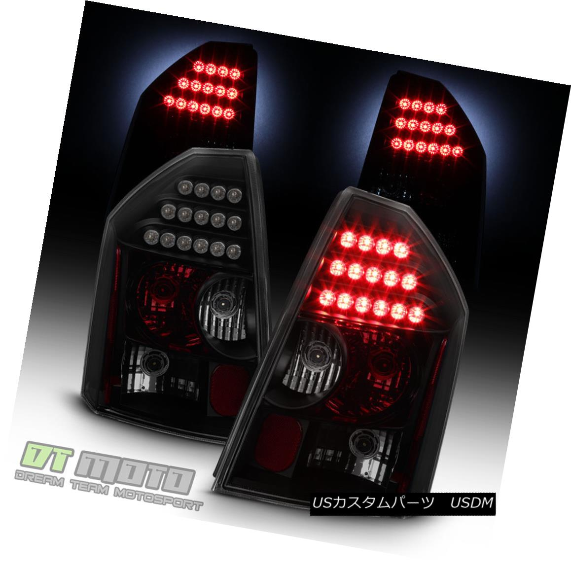 テールライト Black Smoke 2005 2006 2007 Chrysler Smoke Left+Right 300C LED Chrysler Tail Lights Brake Lamps Left+Right ブラックスモーク2005 2006 2007クライスラー300C LEDテールライトブレーキランプ左+右, ハコダテシ:3b1559bb --- officewill.xsrv.jp
