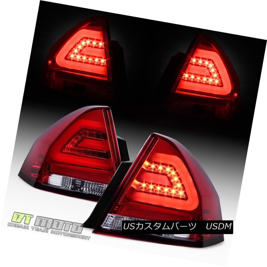 テールライト 2006-2013 Chevy Impala Philips-Lumileds LED Tube Tail Lights Lamps Left+Right 2006-2013 Chevy Impala Philips-Lumile ds LEDチューブテールランプランプ左右+