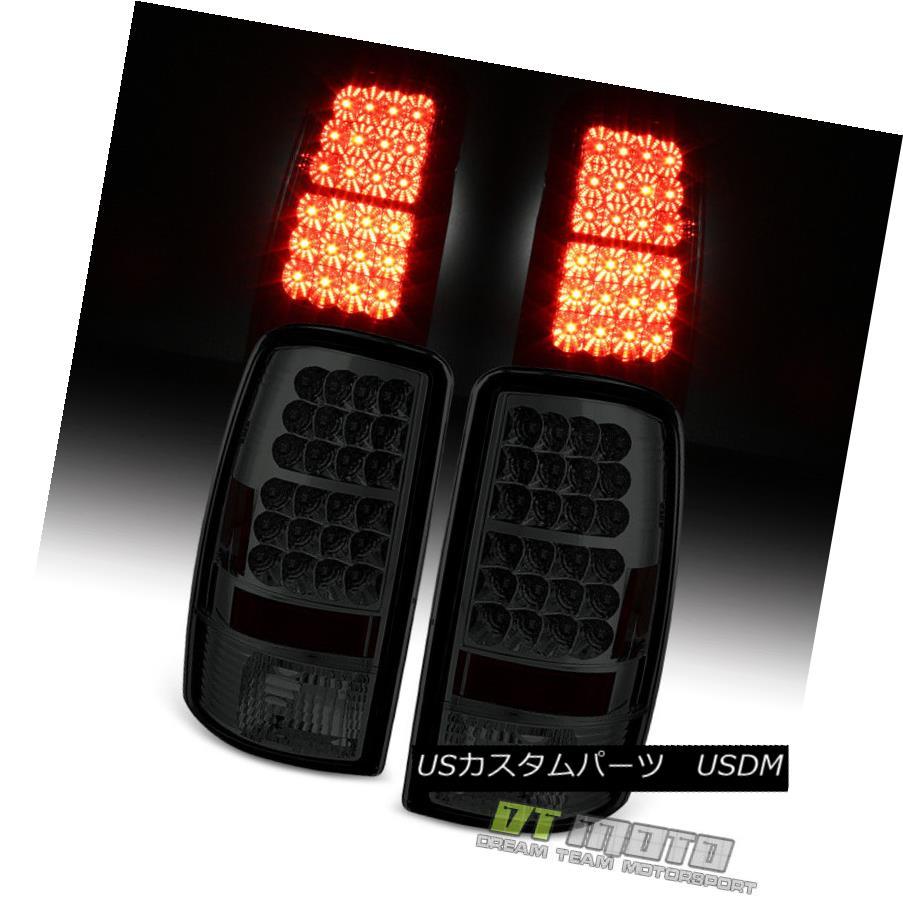 テールライト Smoked 2000-2006 GMC Yukon Chevy Suburban Tahoe Lumileds LED Tail Lights Lamps スモーク2000-2006 GMCユーコンシボレー郊外のタホLumileds LEDテールライトランプ