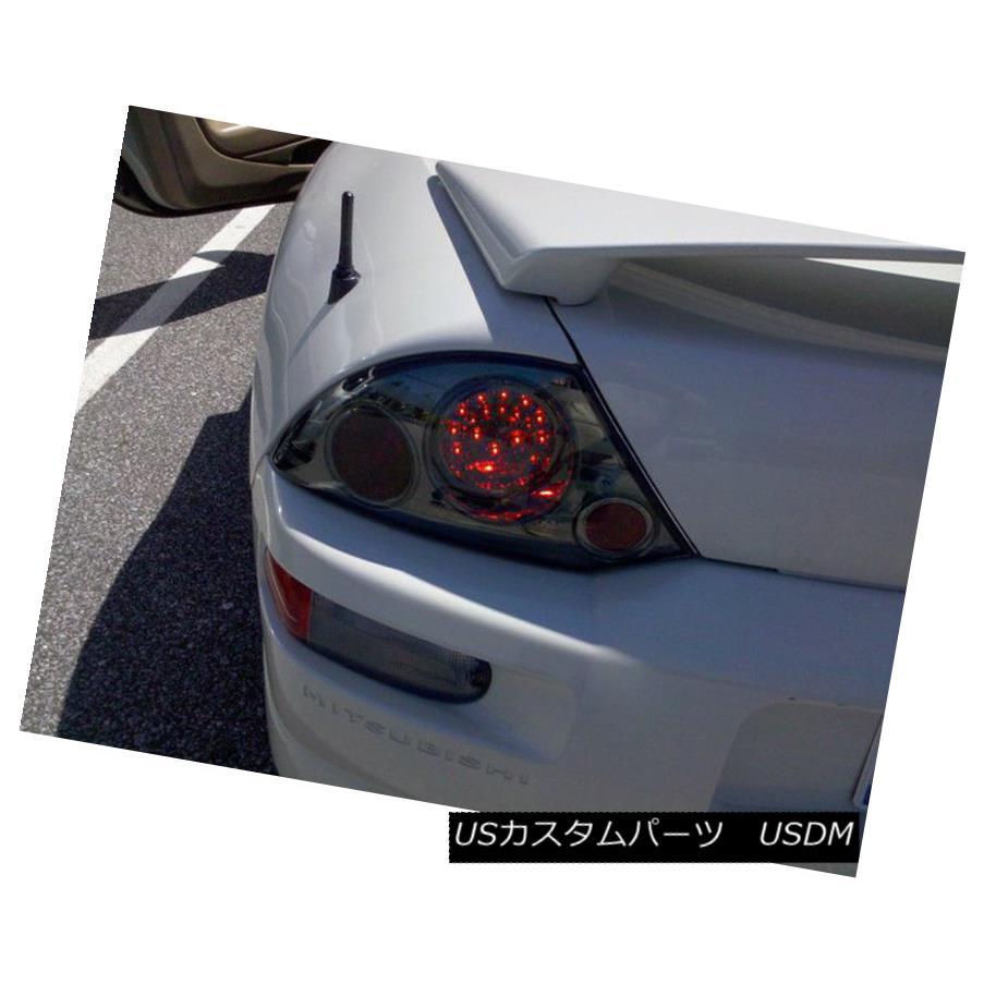 テールライト Smoked Fits 00-02 Mitsubishi Eclipse Philips-LED Tail Brake Lights Left+Right スモークフィッティング00-02 Mitsubishi Eclipse Philips-LEDテールブレーキライト左+右