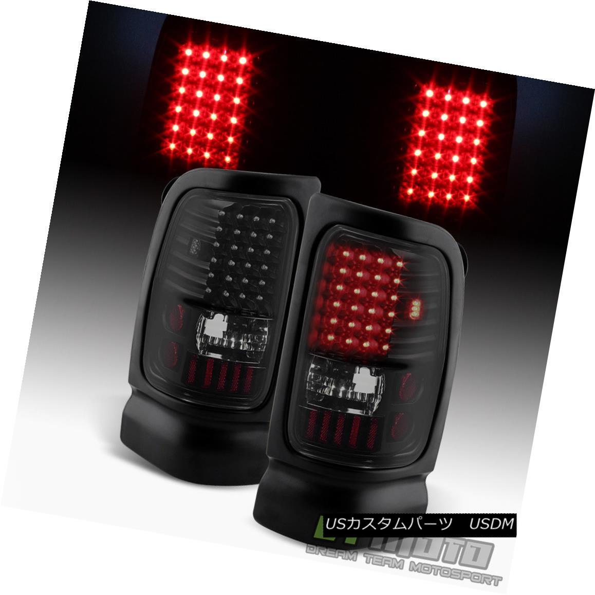 テールライト Black Smoke 1994-2001 Dodge Ram 1500 94-02 Ram 2500 3500 LED Tail Lights Lamps ブラックスモーク1994-2001ダッジラム1500 94-02ラム2500 3500 LEDテールライトランプ