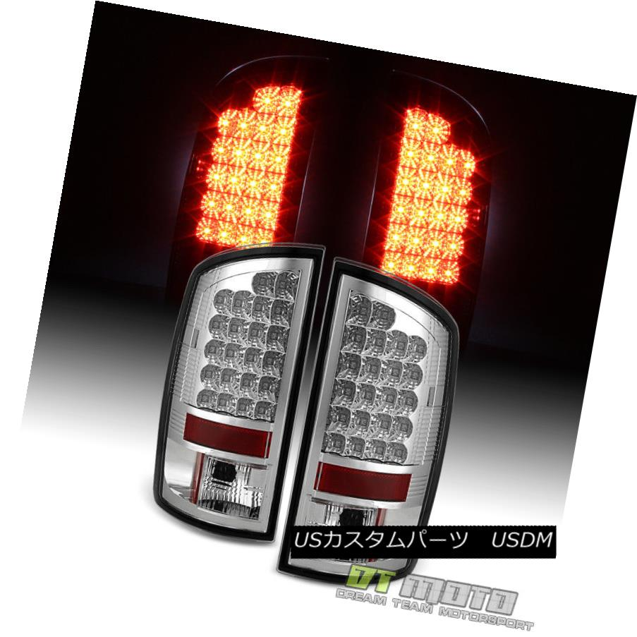 テールライト 2007-2008 Dodge Ram 1500 07-09 2500 3500 Lumileds LED Tail Lights Left+Right Set 2007-2008 Dodge Ram 1500 07-09 2500 3500 Lumileds LEDテールライト左右セット