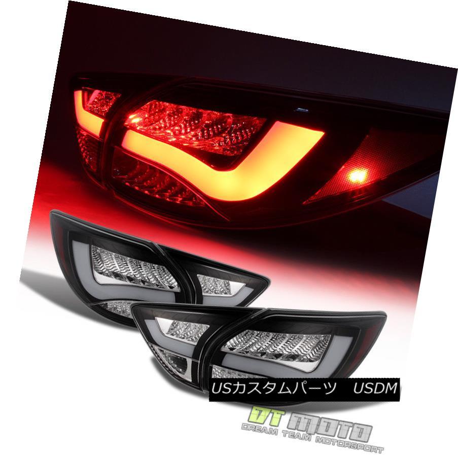 テールライト Black Fits 2013-2015 Mazda Cx-5 Lumileds Led Perform Tail Lights Brake Lamps L+R ブラックは2013-2015年に合うマツダCx-5 Lumiledsはテールライトを実行するブレーキランプL + R