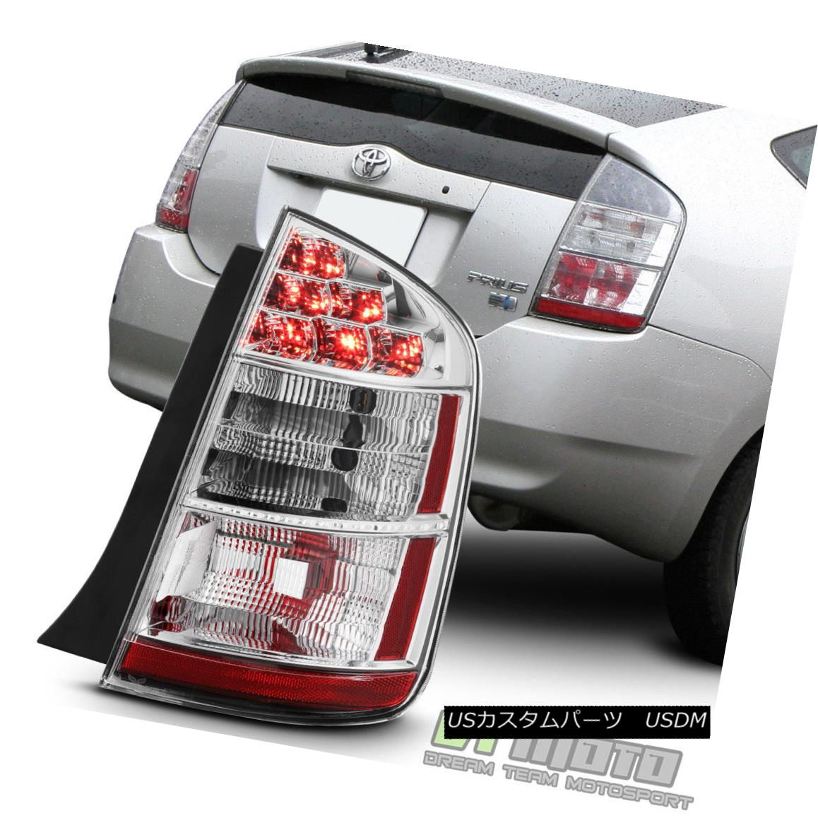 テールライト 2006 2007 2008 2009 Toyota Prius Tail Light Brake Lamp Repacement Passenger Side 2006 2007 2008 2009トヨタプリウステールライトブレーキランプ交換助手席