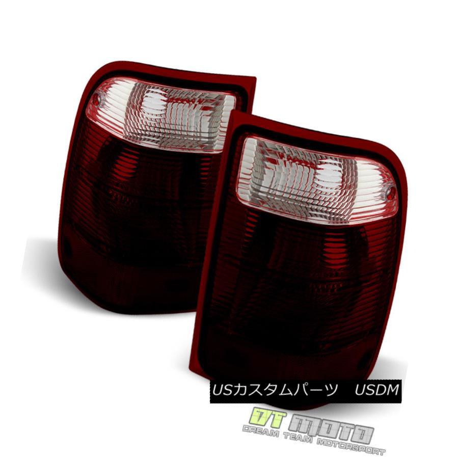 テールライト Dark Red 2001-2011 Ford Ranger Tail Lights Rear Brake Lamps Left+Right Set 01-11 ダークレッド2001-2011 Ford RangerテールライトリアブレーキランプLeft + Right Set 01-11