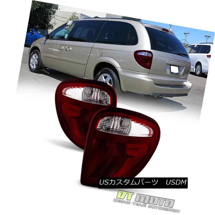 テールライト 2004-2007 Dodge Grand Caravan Town & Country Tail Lights Brake Lamps Left+Right 2004-2007ドッジ・グランド・キャラバン・タウン& 国テールライトブレーキランプ左+右