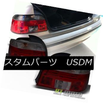 テールライト 1997-2000 BMW E39 5-Series 528i 540i Dark Red Tail Lights Brake Lamps Left+Right 1997-2000 BMW E39 5シリーズ528i 540iダークレッドテールライトブレーキランプ左+右