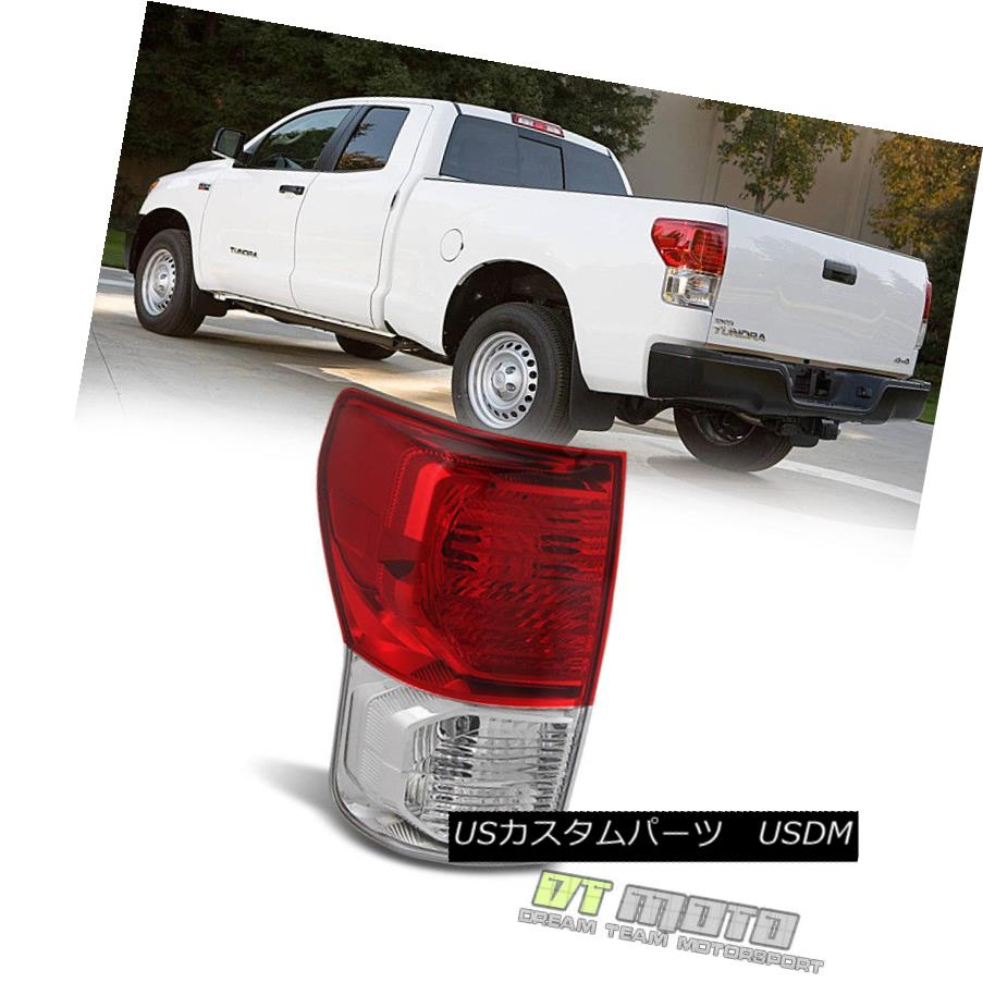 テールライト 2010-2013 Toyota Tundra Tail Lights Lamps 10-13 Driver/Left Side Taillight 2010-2013 Toyota Tundraテールライトランプ10-13ドライバー/左サイドテールライト