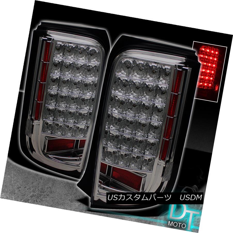 テールライト 2008 2009 2010 Scion Xb JDM Smoked LED Tail Lights Brake Lamps Smoke Left+Right 2008年2009年2010シオンXB JDMスモークLEDテールライトブレーキランプ煙が左+右