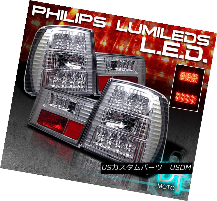 テールライト 89-95 Brake Bmw 5-Series 5シリーズE34 Clear E34 Philips-Led Perform Clear Tail Brake Lights Left+Right 89-95 Bmw 5シリーズE34 Philips-Ledは、左右のテールブレーキライトをクリアします。, トナー職人:7700f5a5 --- officewill.xsrv.jp