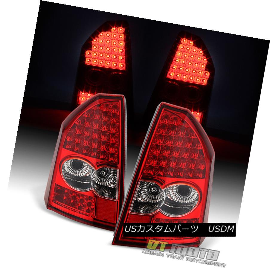 テールライト 2005-2007 Chrysler 300 LED Tail Lights Brake Lamps Pair Set 05 06 07 Left+Right 2005-2007クライスラー300 LEDテールライトブレーキランプペア05 06 07左+右